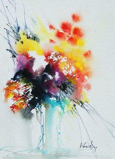 Fresh Flowers 1 (OQA003) Artist: Olivia Quintin