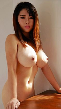 naked normal Asian breast women