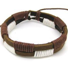 jewelry bangle bracelet  leather bracelt  by jewelrybraceletcuff, $3.00