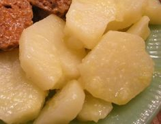 Butter stewed Potatoes from Southern Plate ~ So southern... note at the bottom of recipe explains alternate method