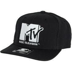 Starter Cap MTV Icon Logo black/white ★★★★★