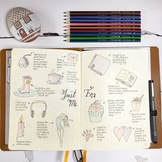 I loved documenting all of the things that make me happy as part of the #bulletjournalchallenge #bulletjournal #bujo