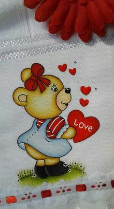 Valentines Day Bears, Cute Blankets, Blue Nose Friends, Cute Coloring Pages, Bear Pictures, Cute Bears, Fabric Painting, String Art, Baby Quilts
