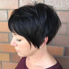 70 Overwhelming Ideas for Short Choppy Haircuts - Pixie Bob Frisuren Short Choppy Haircuts, Short Shag Hairstyles, Bob Hairstyles For Fine Hair, Short Textured Haircuts, Black Hairstyles, Weave Hairstyles, Wavy Pixie Cut, Pixie Cuts, Short Hair Cuts