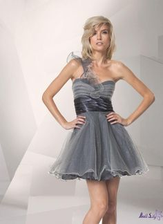 Organza One Shoulder Strap Short Dresses WDSD076  $79.00 (USD)   www.balllily.com offer Wedding Dresses, Bridesmaid Dresses, Evening Dresses, Prom Dresses, FlowerGirl Dresses and Mother Of The Bridal Dresses. www.balllily.com  www.balllily.com offer Wedding Dresses, Bridesmaid Dresses, Evening Dresses, Prom Dresses, FlowerGirl Dresses and Mother Of The Bridal Dresses. www.balllily.com