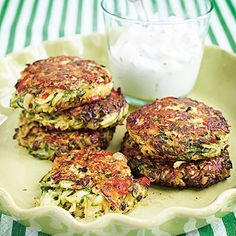 Zucchinibiffar med parmesan | Coop Vegetarian Recepies, Vegetarian Cooking, Cooking Recipes, Healthy Recipes, Greens Recipe, Rice Dishes, Main Dishes, Everyday Food, I Foods