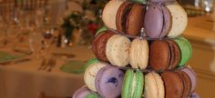 French Macaron Towers by TC Paris:  Weddings, Showers, Celebrations and Special Events.