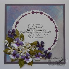 Selma's Stamping Corner and Floral Designs: In Summer