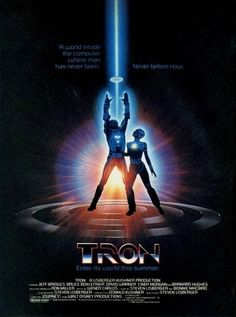 This new Tron: Legacy poster makes me want to see the movie more than ever, if that's even possible. But why am I so sure I've seen it somewhere before? I remember now. Film Science Fiction, Fiction Movies, 80s Movies, Good Movies, 80s Movie Posters, Classic Movie Posters, Movie Poster Art, Classic Movies, Original Movie Posters
