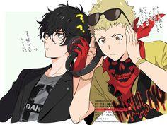 Persona Five, Persona 5 Anime, Persona 5 Joker, Ryuji Sakamoto, Ren Amamiya, Best Rpg, Shin Megami Tensei Persona, Akira Kurusu, All Anime