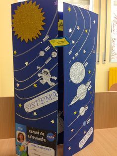BIENVENIDOS A SEGUNDO: Lapbook del Sistema Solar