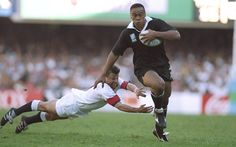 Jonah Tali Lomu, MNZM was a New Zealand rugby union player. He was the youngest ever All Black when he played his first international in 1994 at the age of 19 years and 45 days. Lomu finished with 63 caps and scored 37 international tries