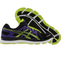 697599f88f Asics Womens Gel-Neo 33 (black / lime / electric purple) T272N-9005 -  $104.99