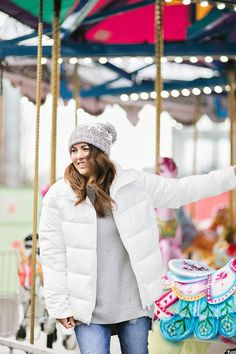 Day Jilly's 12 Days Of Christmas - Jillian Harris Merry Christmas My Love, 12 Days Of Christmas, Jillian Harris, Winter Hats, Winter Jackets, Shopping Day, Winter Fashion, Coat, Design
