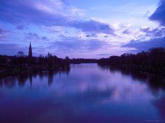 ciel bleu à Metz