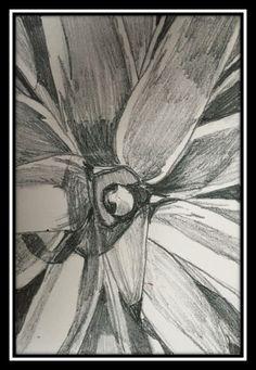 A plant. Pencil on paper. Experiment, Charcoal, Pencil, Pastel, Plants, Painting, Art, Art Background, Cake