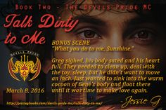 Is it possible to fall in love with a voice? Talk Dirty to Me bonus scene is live at Carly's Book Review