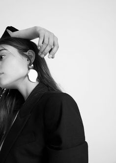 Brincos pendentes metálicos | MANGO