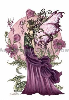 Fairy Art Artist Amy Brown: The Official Online Gallery. Fantasy Art, Faery Art, Dragons, and Magical Things Await. Amy Brown Fairies, Elves And Fairies, Dark Fairies, Elfen Fantasy, Fantasy Art, Dragons, Kobold, Fairy Pictures, Love Fairy