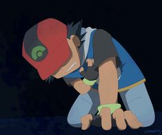 Ash Pokemon, Pokemon Ash Ketchum, Pokemon Ash And Serena, Pokemon People, Pokemon Pins, Pokemon Images, Pikachu, Dark Evil, Dark Ash