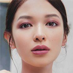 Makeup Inspo, Makeup Tips, Eye Makeup, Hair Makeup, Eyeliner Tape, Wide Set Eyes, Japanese Makeup, Dark Brown Eyes, Interesting Faces