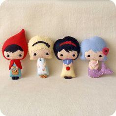 Fairy Tale Dolls pdf Patterns by Gingermelon on Etsy, $25.00