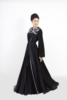 Top 10 All Black Abayas by DAS Collection