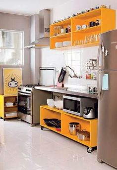 Super Kitchen Backsplash White Cupboards Back Splashes Ideas White Countertops, Home And Living, Decor, Home Kitchens, Yellow Kitchen, Countertop Colours, Home N Decor, Home Decor, Backsplash For White Cabinets
