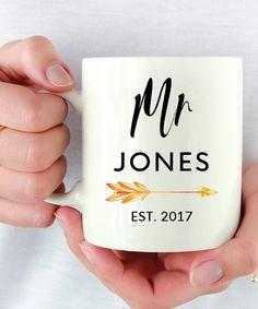 Love this White 'Mr' Personalized Mug on #zulily! #zulilyfinds