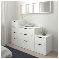 Ideas For Bedroom Ikea Nordli Design Bedroom Drawers, Ikea Bedroom, Bedroom Decor, Design Bedroom, Bedroom Ideas, Ikea Furniture, Shabby Chic Furniture, Furniture Design, Funky Furniture