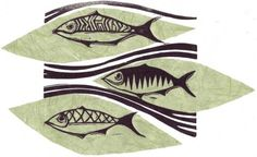 Image result for linocut fish Menu Illustration, Fish, Image, Pisces