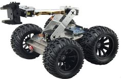 Iron Man-3 4WD All-Terrain Chassis for Arduino- Click to Enlarge