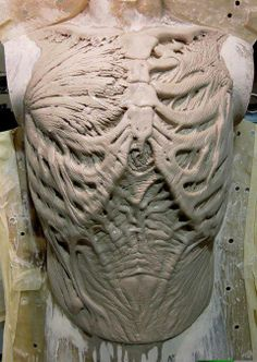 Dessicated Chest sculpt by Don Lanning.