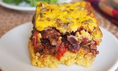 Savory Vegetarian Corn Pudding (Pastel de Choclo)