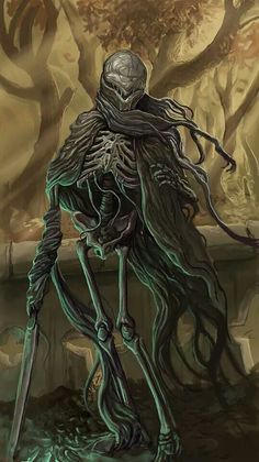Horror Art That Blends Science Fiction With Dark Fantasy High Fantasy, Medieval Fantasy, Fantasy Art, Grim Reaper Art, Don't Fear The Reaper, Mists Of Avalon, Dark Pictures, Fantasy Fiction, The Dark Crystal