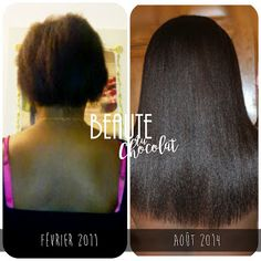 Beauté au Chocolat - Les secrets de beauté d'une belle femme noire. Cette éditrice de blog africaine a su faire pousser ses cheveux au bout de 3 ans. De la longueur des oreilles au milieu du dos en 3 ans. From ear length to Mid back length hair in 3 years. -Hair growth journey Aventure capillaire Long black afro hair Long African hair Beauté au chocolat #Cheveux afros Longs cheveux afros Femme noire