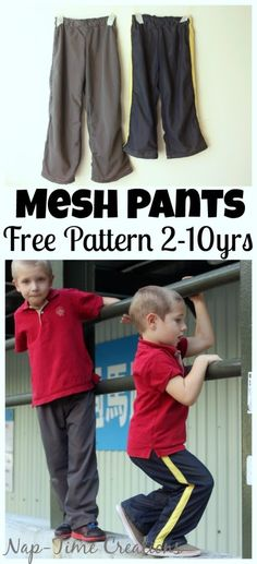 Mesh Lounge Pants Tutorial Any mom with active kids will know what these mesh pants mean when it...