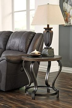 Bon Get Your Volanta   Caramel   Round End Table At Watsonu0027s Home Furniture, Muscle  Shoals AL Furniture Store.