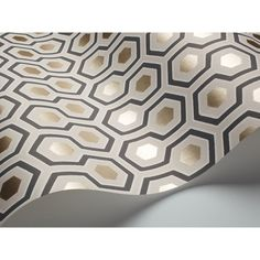 Cole & Son  - Hicks' Hexagon Wallpaper - 95/3016