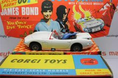Corgi 336 James Bond Toyota 2000 GT YOU Only Live Twice Nmib Free Shipping | eBay