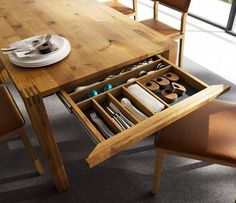 Loft Dining Table image 1 - wharfside.co.uk