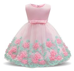 Mother & Kids Buy Cheap 2019 Little Girl Baby Unicorn Dress Summer Sleeveless Striped Pink Tulle Party Birthday Tutu Dresses For Girls 1 2 3 4 5 Years Agreeable Sweetness