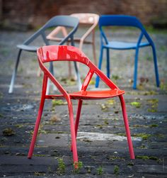 LessThanFive chair for Coalesse by Michael Young