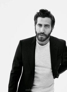 Jake Gyllenhaal por David Slijper para Esquire UK