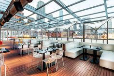 IO Urban Roofscape - 4th floor at the Godfrey Hotel, River North - 10 Chicago rooftop bars that'll be open year round