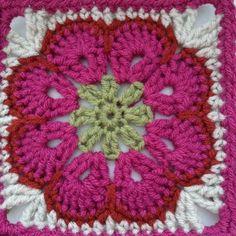 Oh So Simple! Blanket African Flower