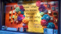 Latino literature display.  Vroman's Bookstore, Pasadena, CA