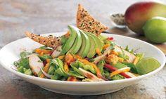 Basic salad w/avacodo
