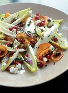 Winter salad recipes, Blue cheese recipes and Endive salad on ...