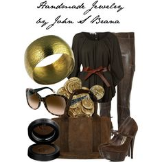 polyvore ideas / Handmade Jewelry by John S Brana by linseygreen on Polyvore